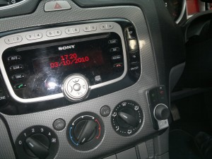 Novero Truly install into Ford Focus